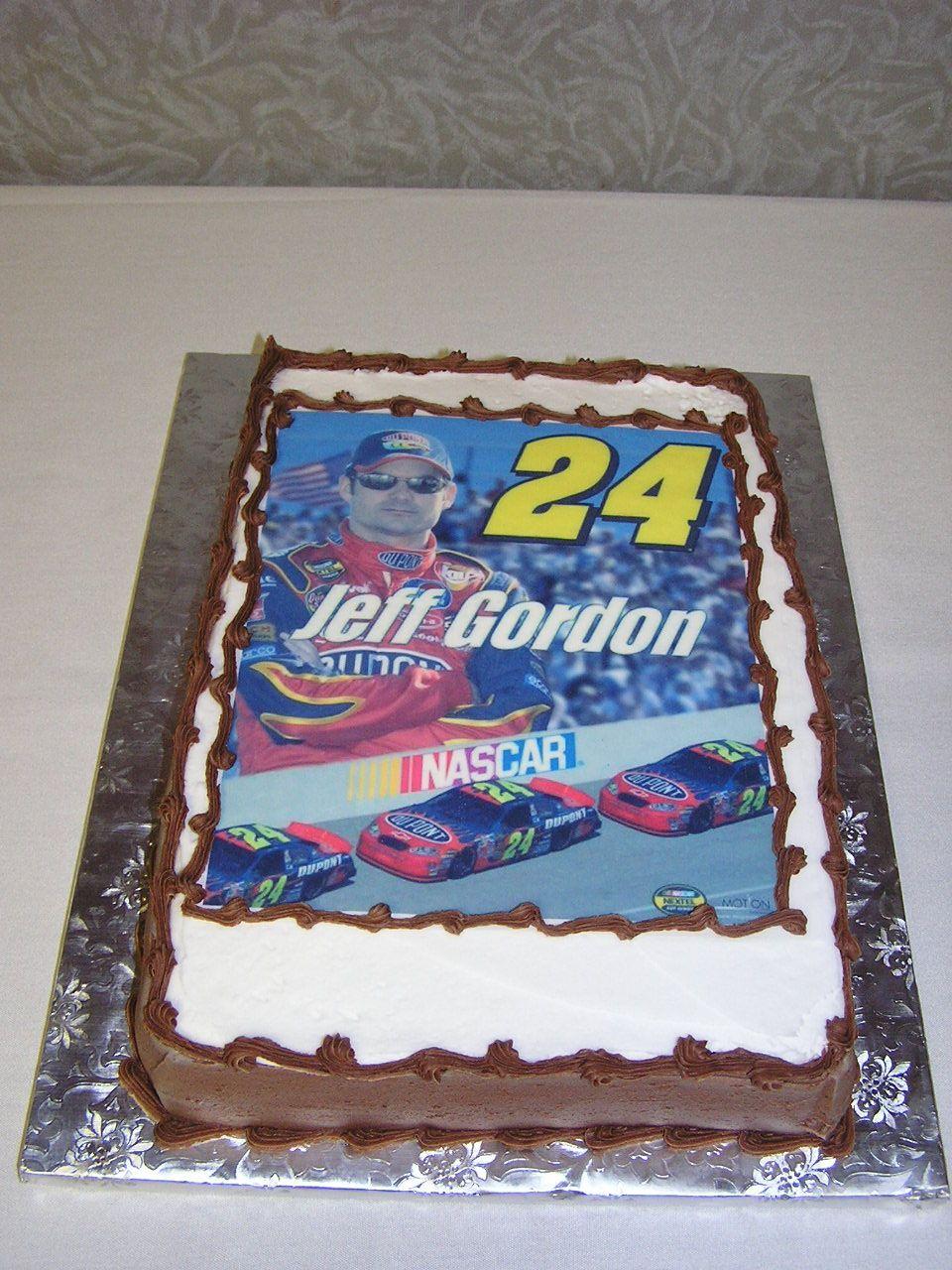 Nascar Wedding Cake The Groom Is A Nascar Jeff Gordon Fan