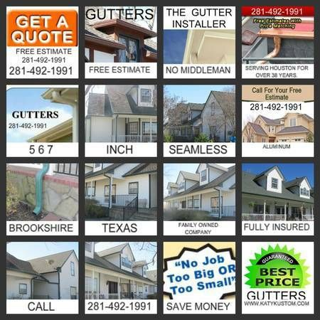 Image By Kustom Gutters On Seamless Aluminum Gutters