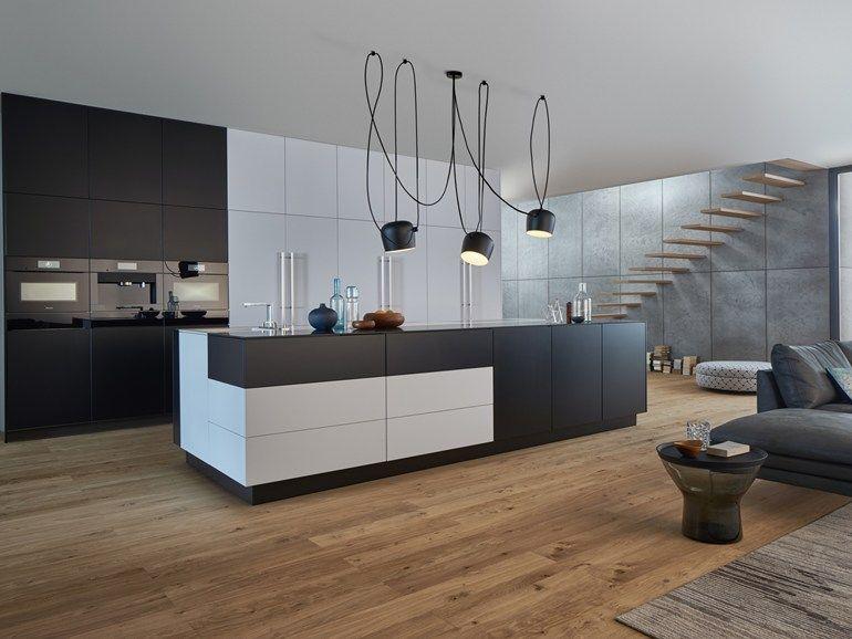 Kitchen with island BONDI CLASSIC-FS by LEICHT Küchen Modern - küchen modern design