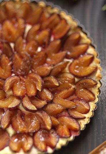 Schnelle Pflaumen-Tarte - Pflaumen-Rezepte Herbstgenuss pur - schnelle und leichte küche