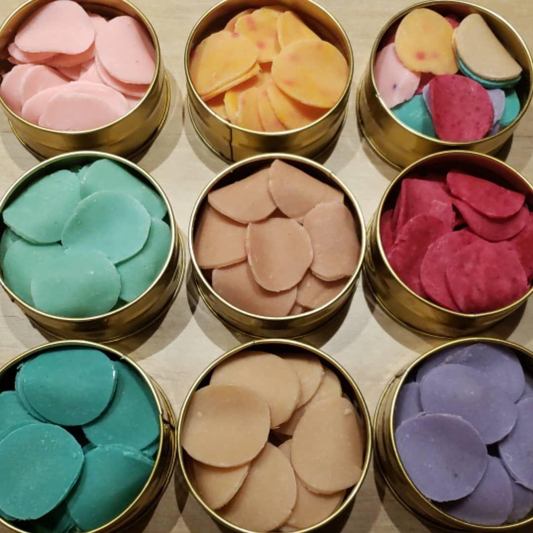 hacer jabon de colores casero
