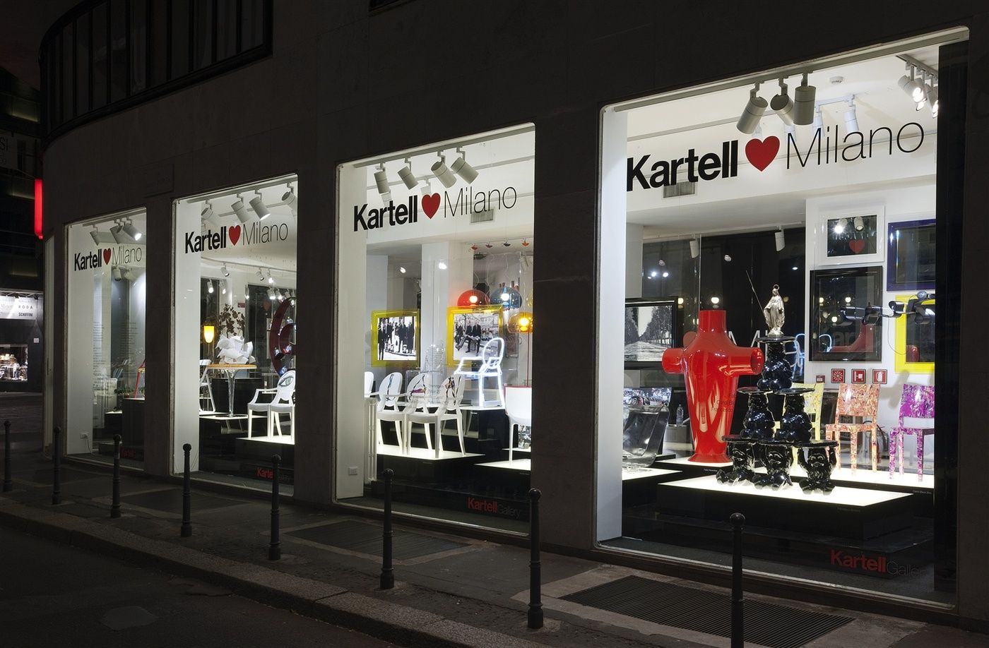Kartell | Kartell Stores around the world | Pinterest