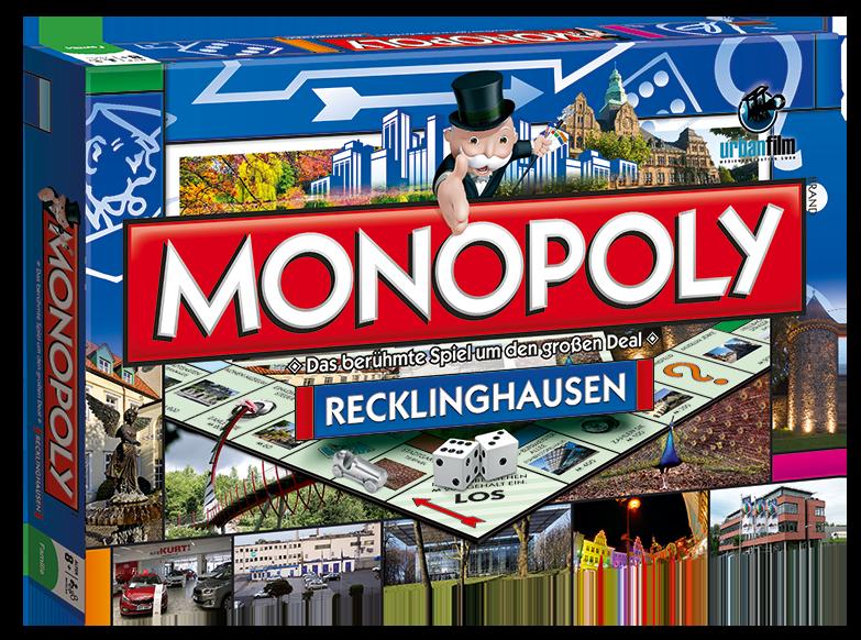 Monopoly Recklinghausen CityEdition Palmkirmes (mit
