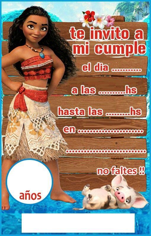 Pin De Daniela Castan En Moana Party Fiesta De Cumpleaños