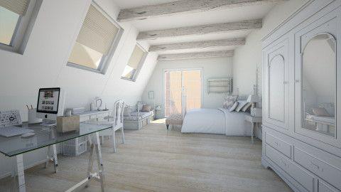bonjour paris - Feminine - Bedroom - by giorgia bo