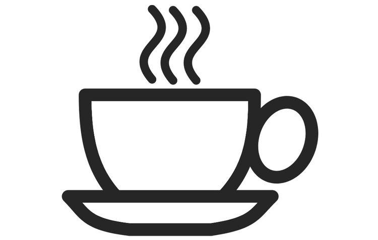 Dibujo para colorear taza de café | TAZAS PARA TOMAR EL TE O EL CAFE ...