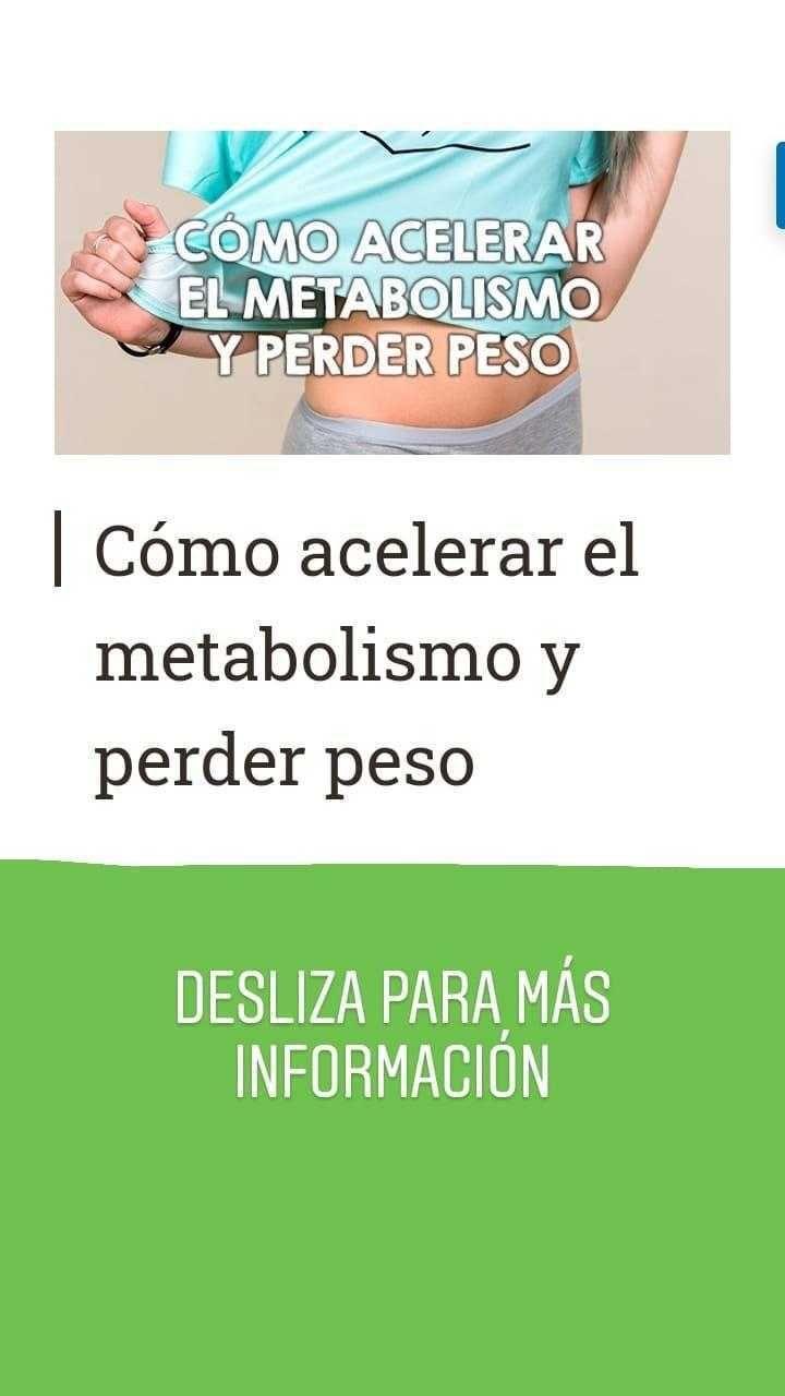 Mejor medicina para activar metabolismo para adelgazar