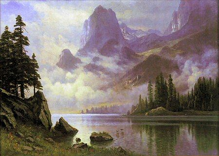 Famous Landscape Oil Paintings by Albert Bierstadt - Fine ...