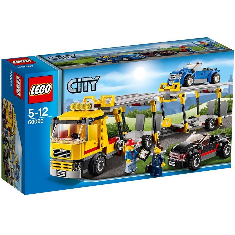 Lego City Great Vehicles 60060 Auto Transporter Amazon Co Uk Toys Games Lego City Lego City Sets Lego Building Sets
