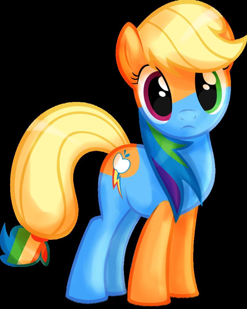 любит картинки пони эпл джек радужная находятся