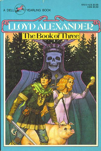 Taran and Eilonwy (the first book in The Prydain Chronicles)