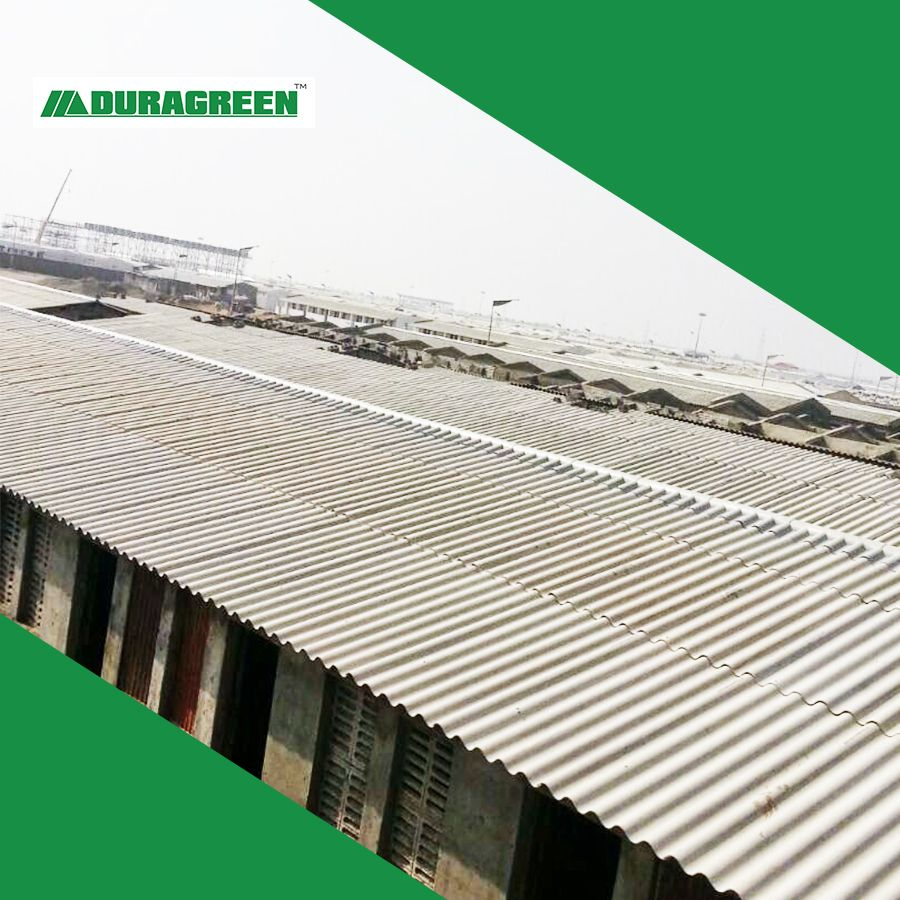 India Project By Duragreen Fiber Cement Corrugated Roofing Sheets In 2020 Corrugated Roofing Fiber Cement Board Roofing Sheets