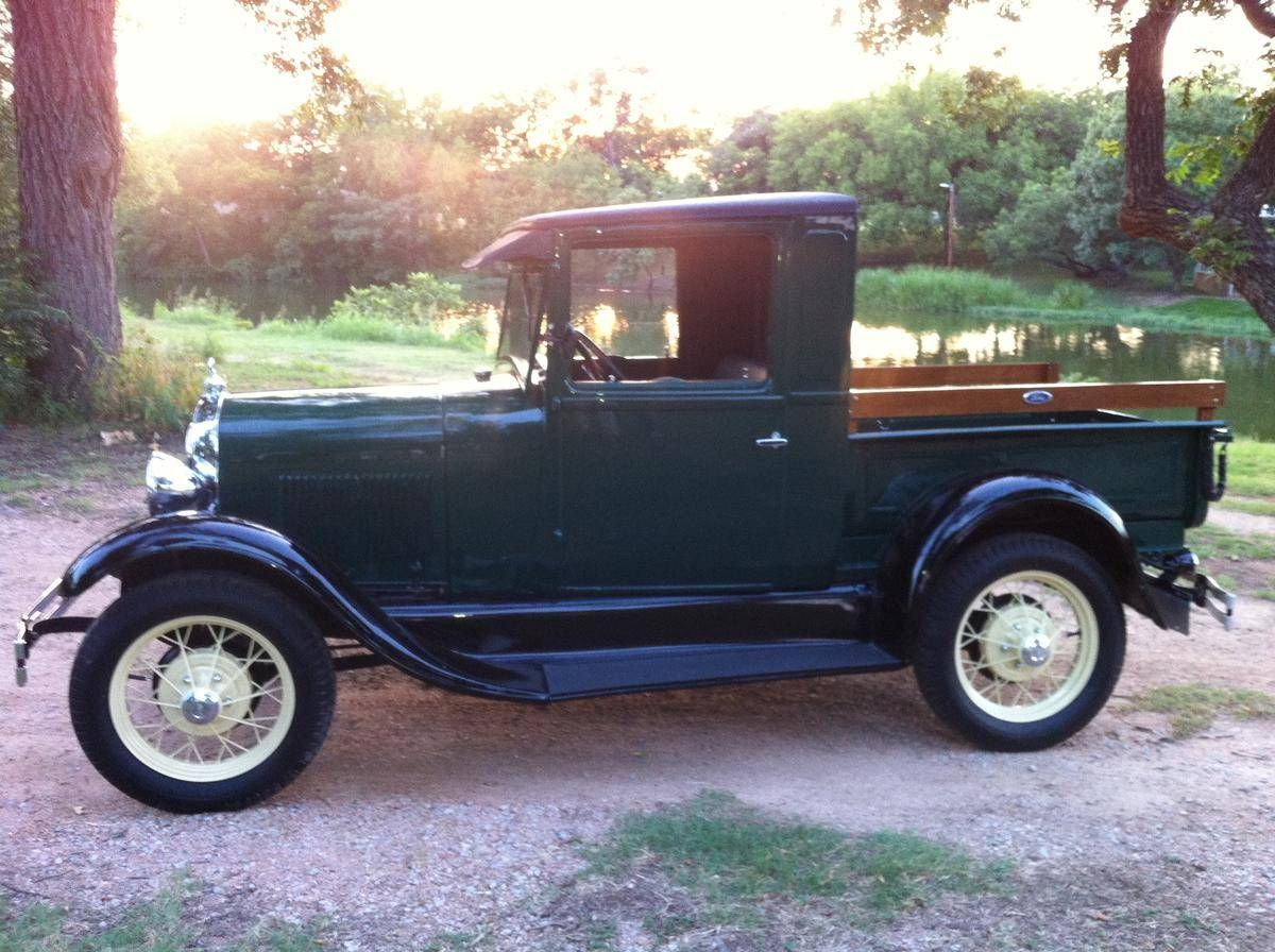 1929 Ford Model A Closed Cab Pick Up For Sale Hemmings Motor