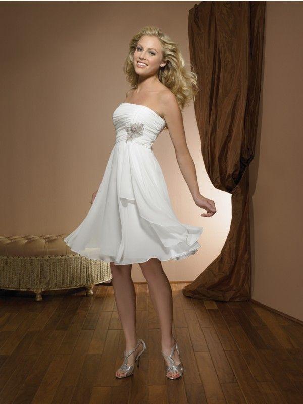 Stunning Cute Wedding Gown Short Length Dress