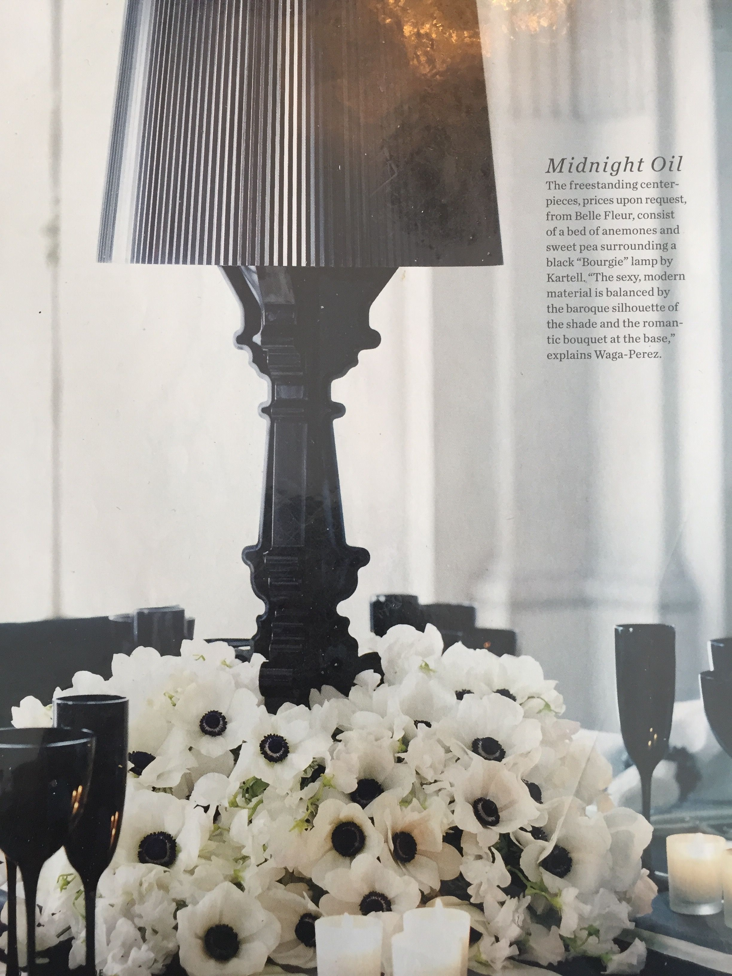 Lamp centerpiece | Pinterest Wedding: Centerpieces & Place Settings ...