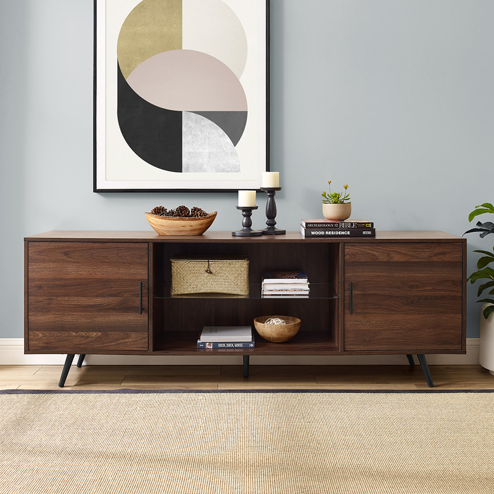 70 Mid Century Modern Tv Stand Midcentury Entertainment Centers And Tv Stands By Walk In 2020 Mid Century Modern Tv Stand Midcentury Modern Entertainment Center