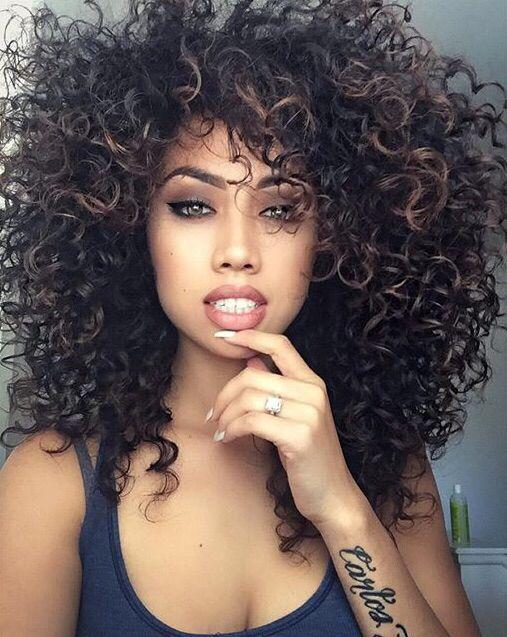Pinterest Kkristixo Hair Pinterest Curly Hair Style And