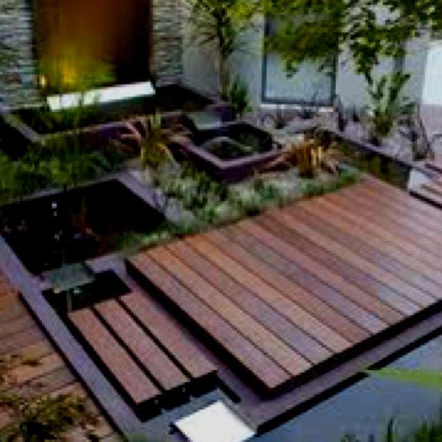 Japanese Garden Indoor: Modern Landscaping, Water