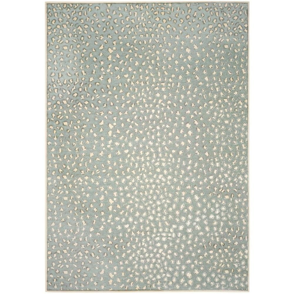 Paradise Cream/Spruce (Ivory/Green) 8 ft. x 11 ft. 2 in. Area Rug