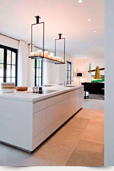 Wood White Con Imagenes Piso Moderna Suelos Cocina Suelos