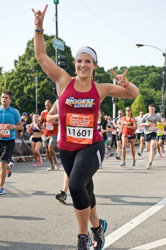 The Biggest Loser Winner Danni Allen S Tips For First Time Marathoners Fitness Inspiration Marathon Tips Lose 15 Pounds