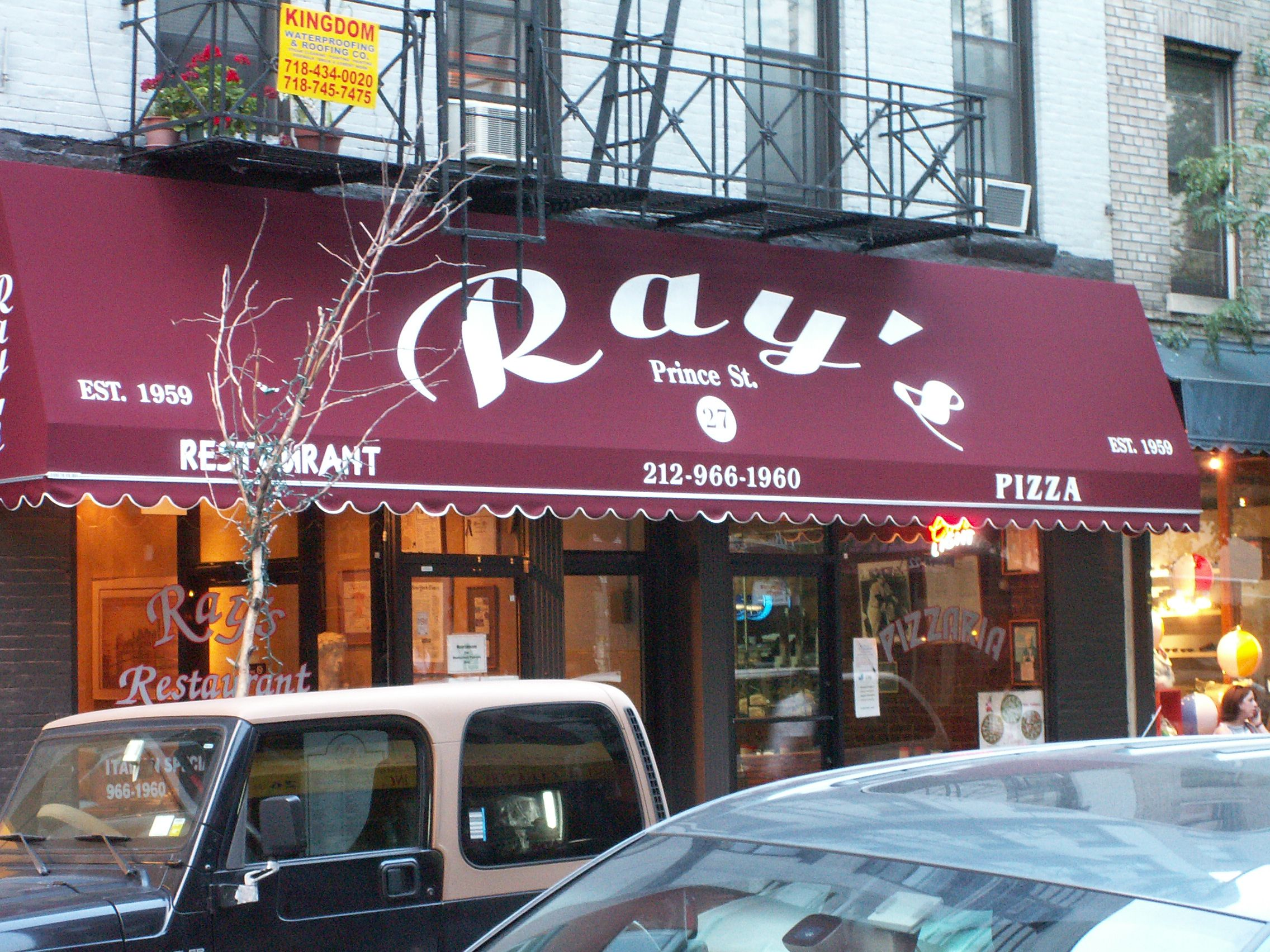 *Closed* Ray's Pizza, Prince Street, New York NY / Food
