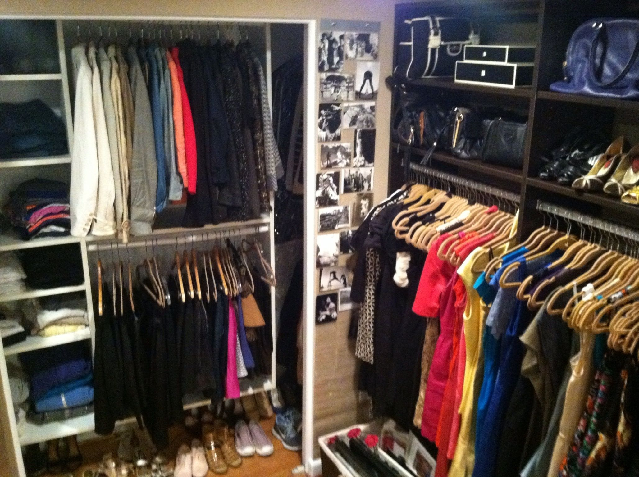 Turn A Spare Room Into A Walk In Closet. More Photos On The Blog