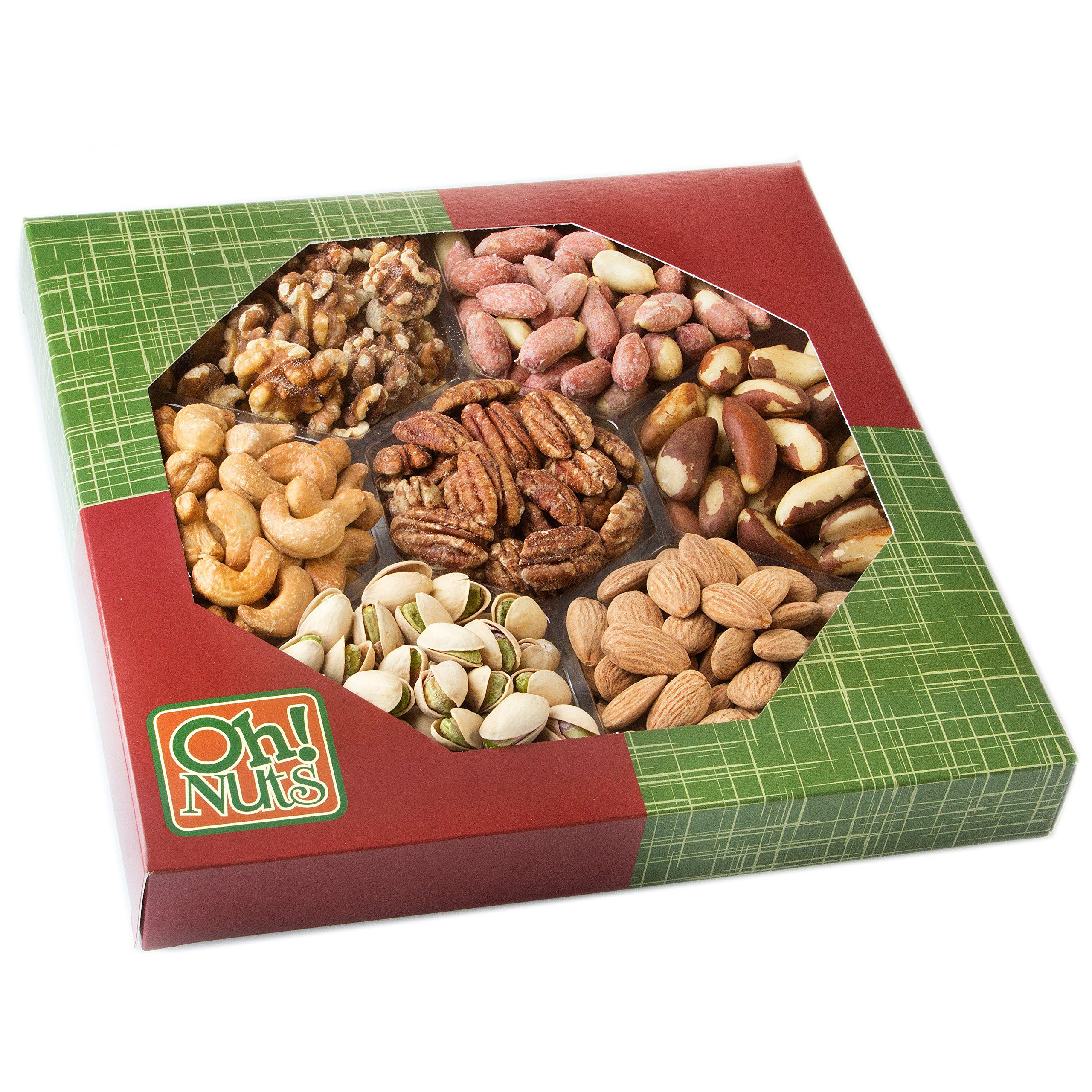Healthy Snacks Dry Roasted Nuts Unsalted 7 Variety Food Gift No Additives No Oil No Salt Great Gift For Him Or Her V Healthy Food Gifts Food Gifts Variety Food