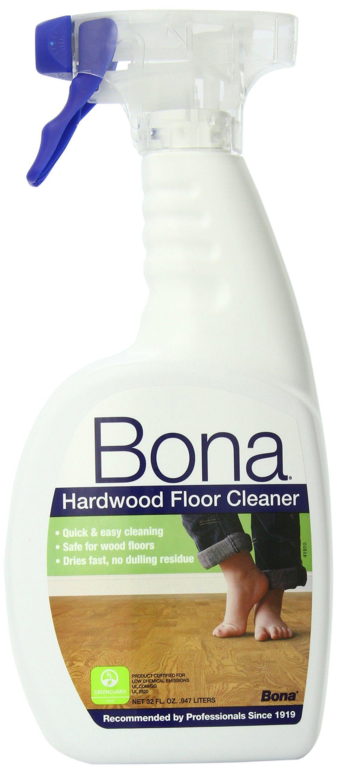 Bona Hardwood Floor Cleaner Spray, 32 oz. Use Bona