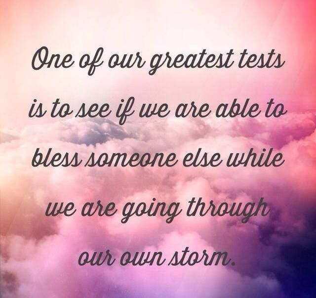 Faith Being Tested Quotes Test Of Life By Being A Christlike