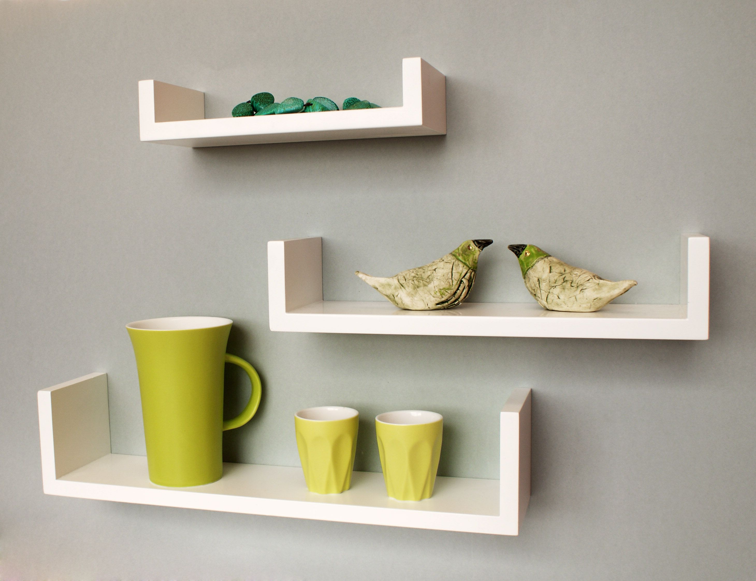 Bunte Wandregale I Will Have These Modern Clean White U Shaped Shelves Great