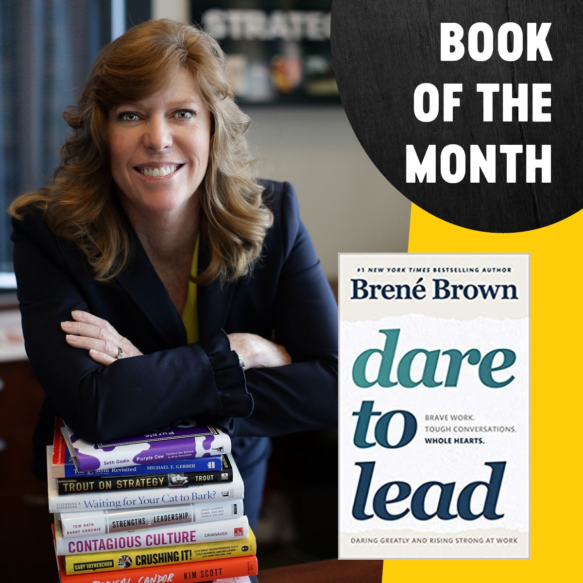 Ams Book Of The Month Dare To Lead With Images