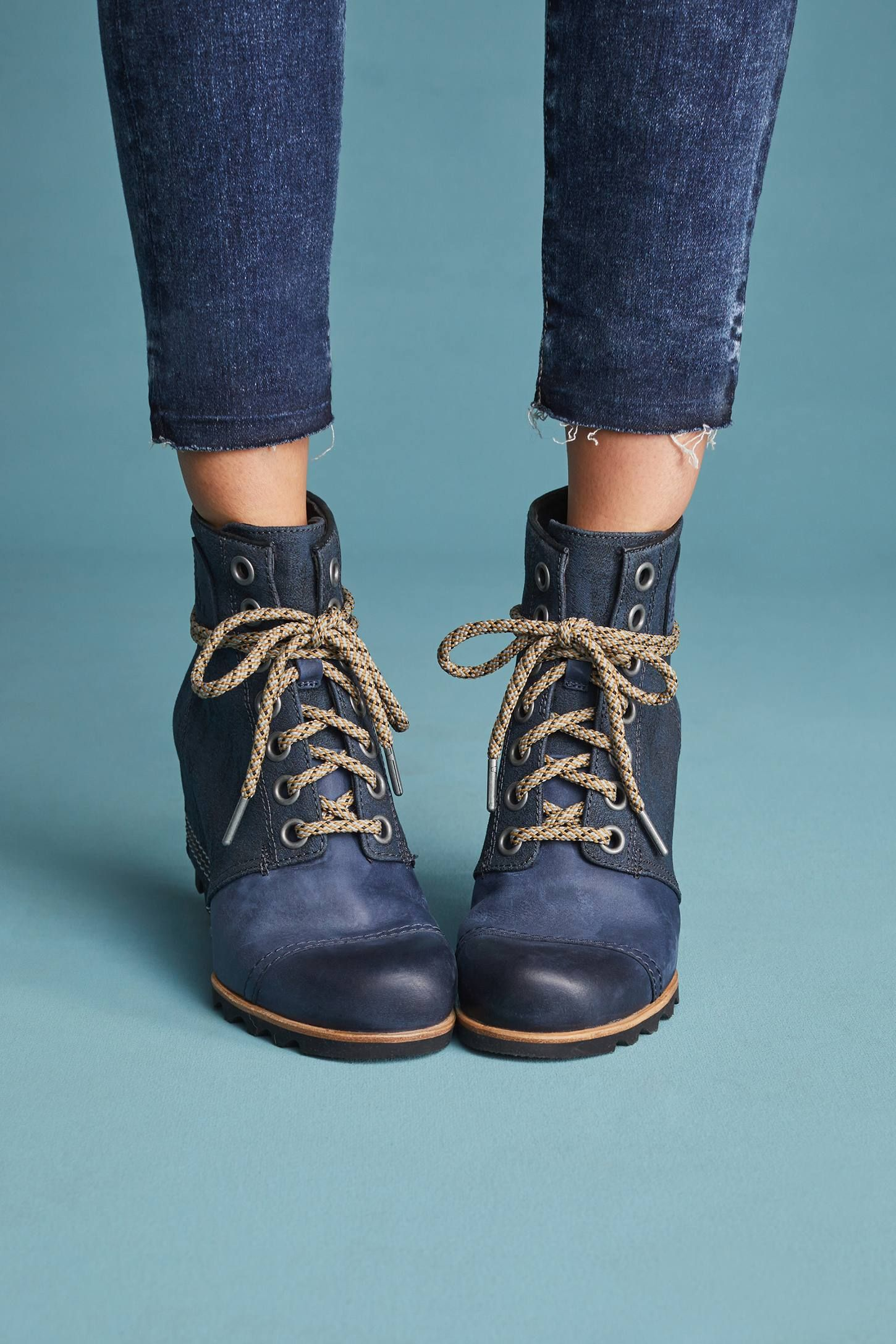1599150e647 Shop the Sorel PDX Wedge Boots and more Anthropologie at Anthropologie  today. Read customer reviews