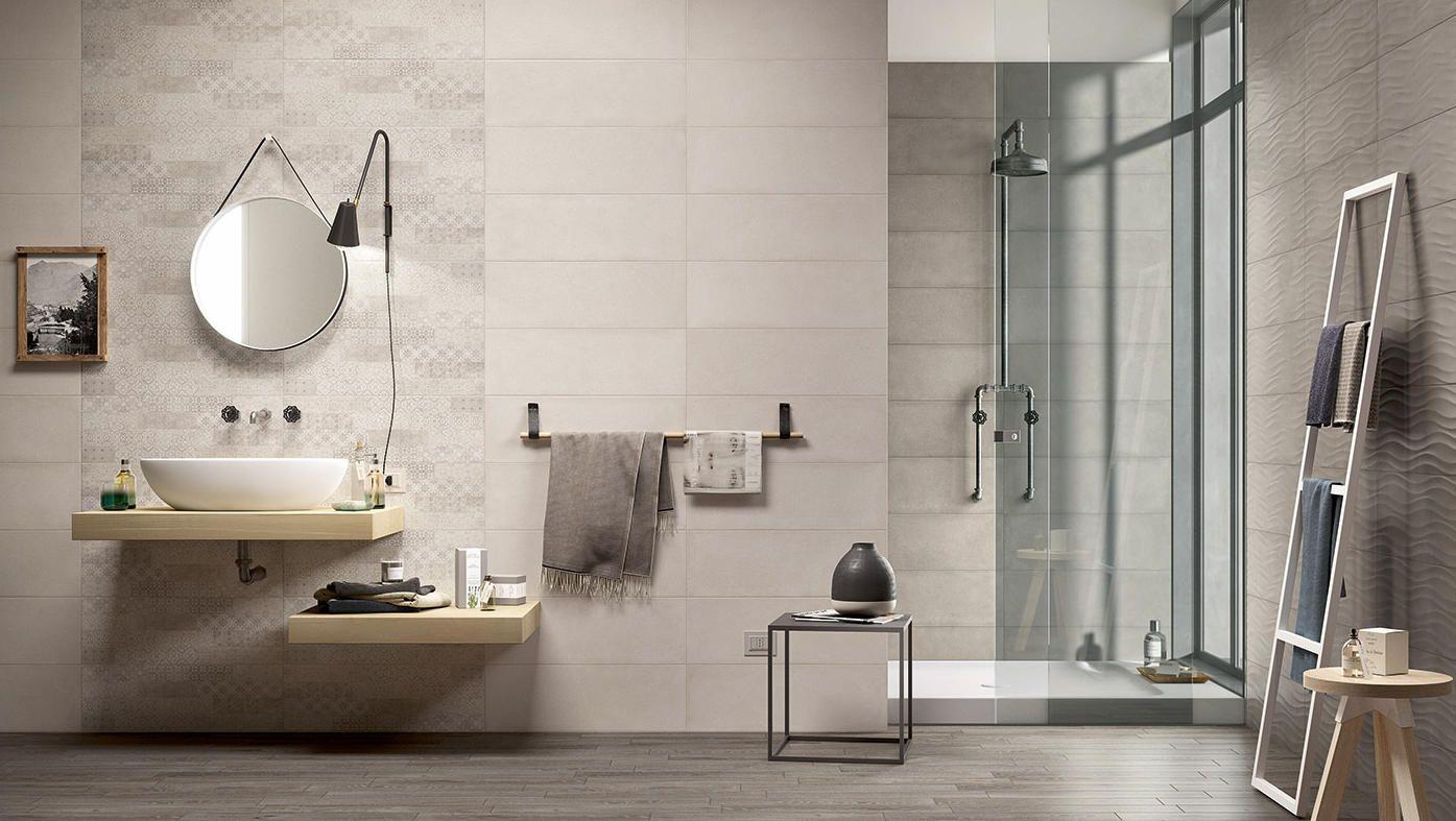 7 id es pour am nager une douche pratique et fonctionnelle - Carrelage salle de bains design ...