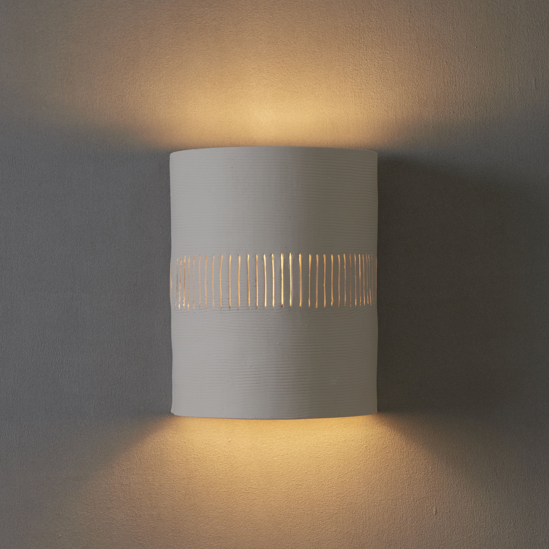 Ceramic Wall Light Bedroom Lighting White Wall Sconce Ceramic