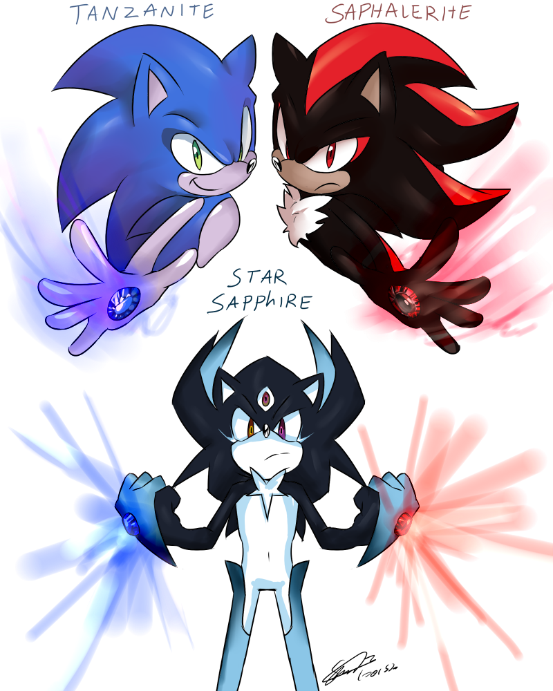 Sonic and shadow gem fusion | sonic the hedgehog ...
