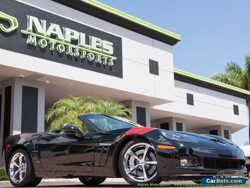 2010 Chevrolet Corvette Grand Sport Convertible 2Door