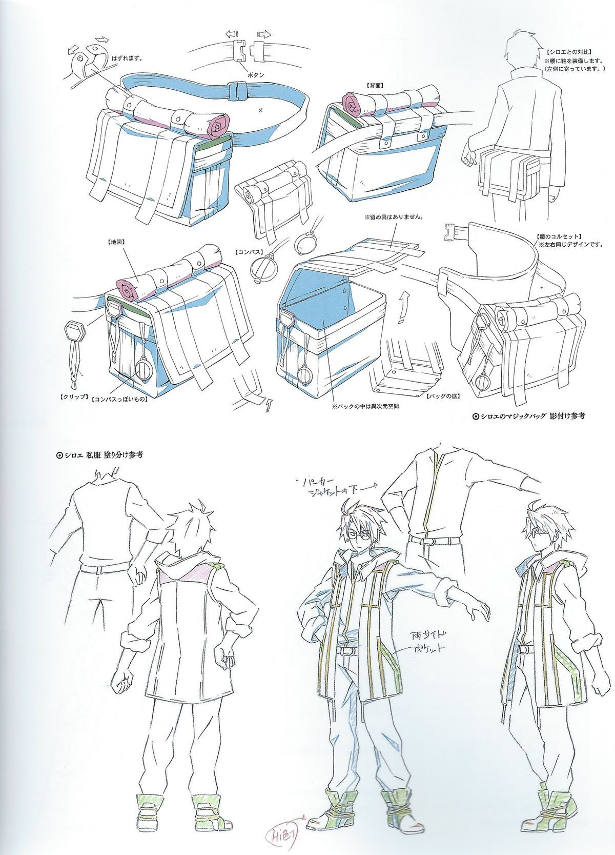 shiroe, notes for cosplaying