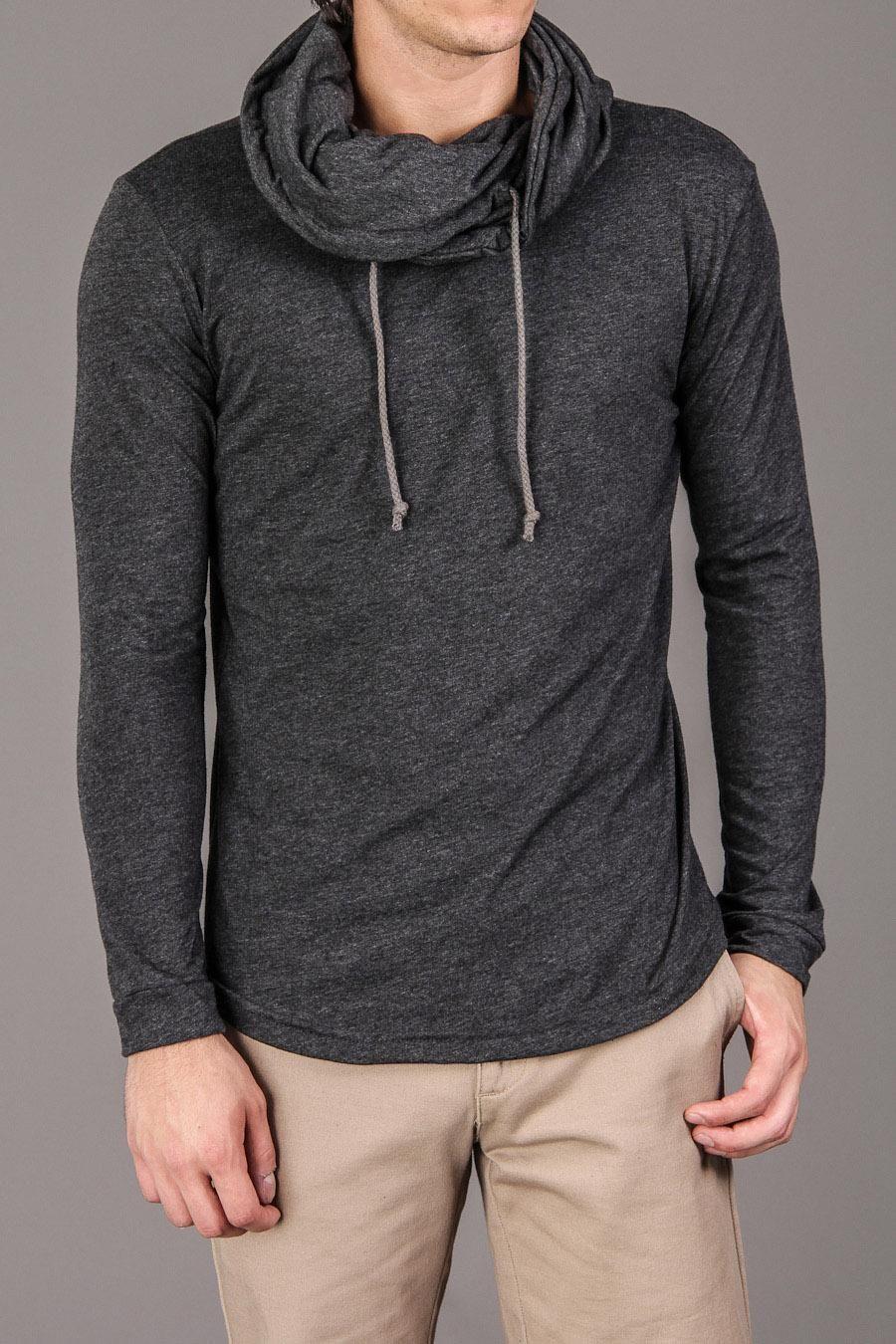 Lantern Cowl Collar Sweater Guy style Pinterest Menus fashion