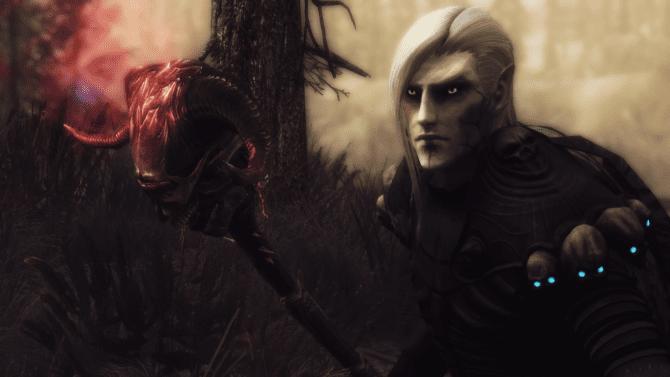 TDN Followers - Necromancer Follower - Xavier at Skyrim Nexus - mods