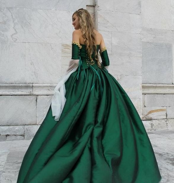 Medieval Wedding Dress Pattern Laced Corset Bridal Gown: Game Of Thrones Cersei Corset Medieval Gown