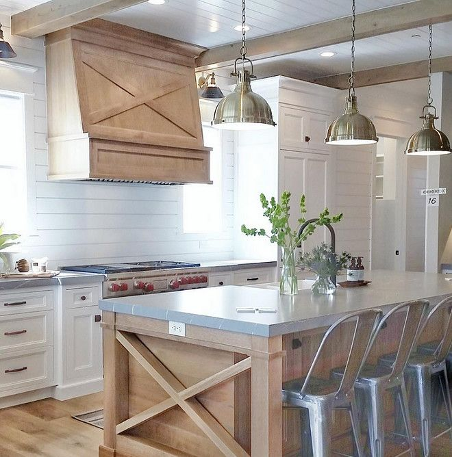 Farmhouse Kitchen With Grey Quartz Countertop Cambria Quartz