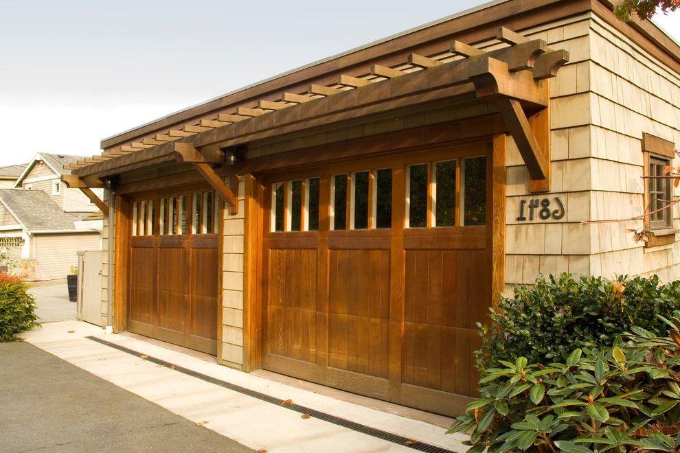 Parker Garage Doors With Craftsman Garage Also Asian Craftsman