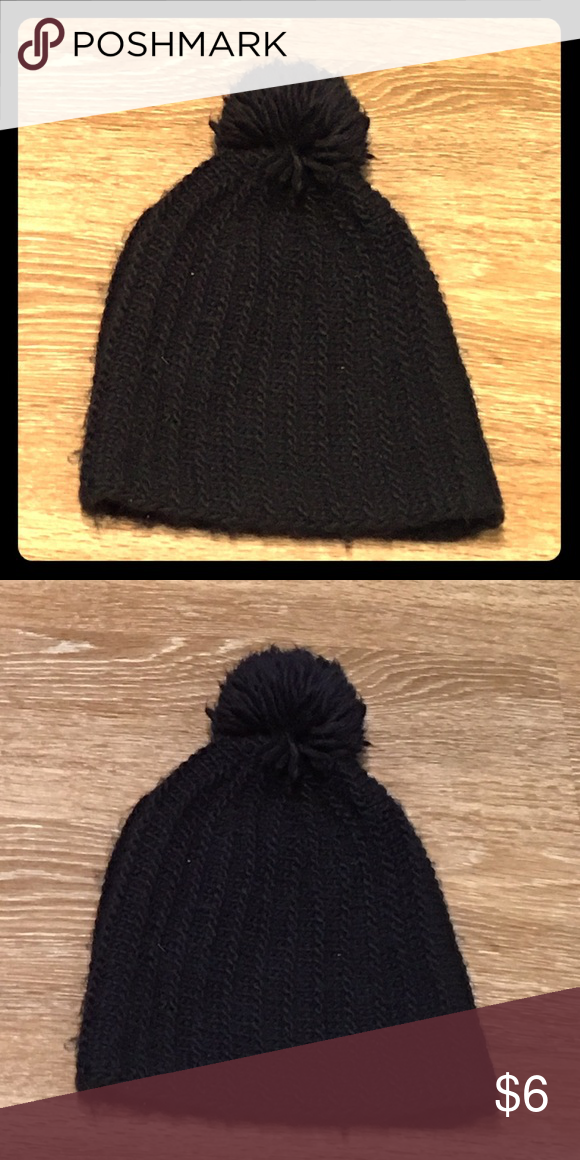 Black Winter Hat Cute black hat for the winter. Accessories Hats ... 9cb8a93f084