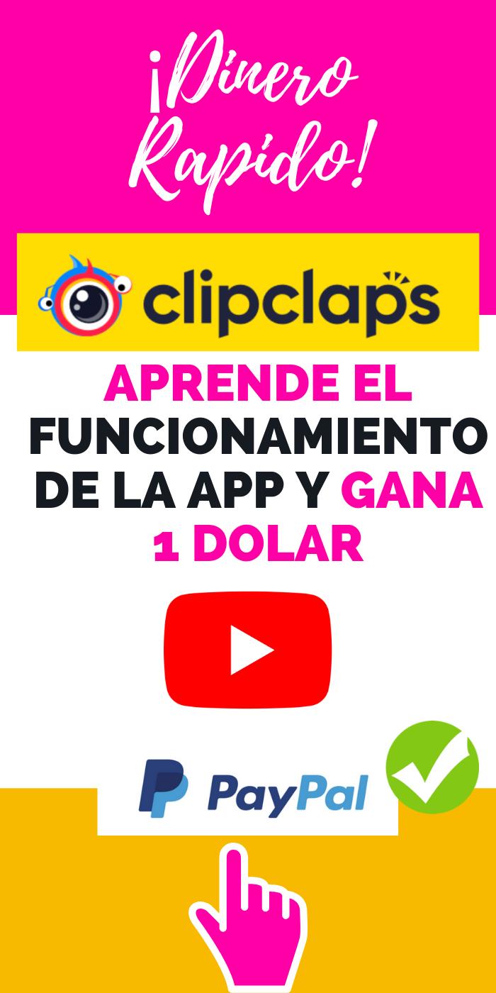 Clipclasps Nueva App Para Ganar Dinero Ganar Dinero Por Internet Ganar Dinero Como Ganar Dinero