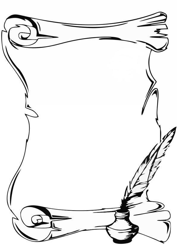 Pin By Jhenifer Oliver On Desenhos In 2020 Page Borders Design