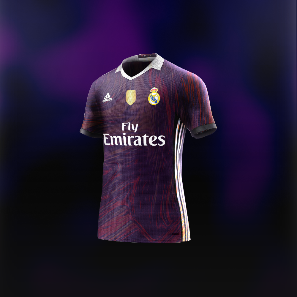 best loved 5ec60 b5fe3 Adidas Real Madrid concept kit. | Football Kit Designs ...