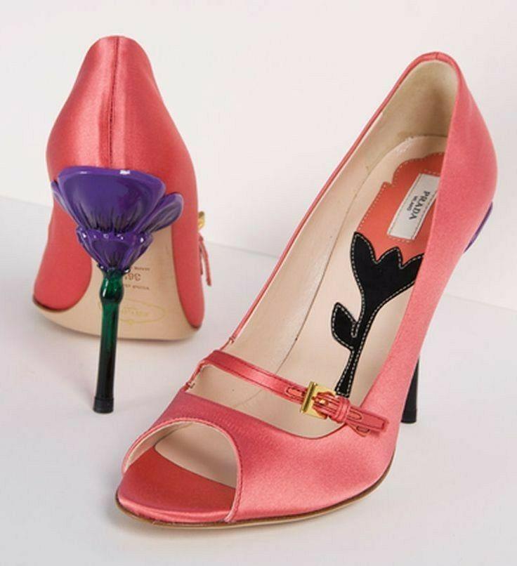f72b25be5 Sapatos, Sapatos Prada, Botas De Salto Alto, Sapatos Para O Calor, Botas
