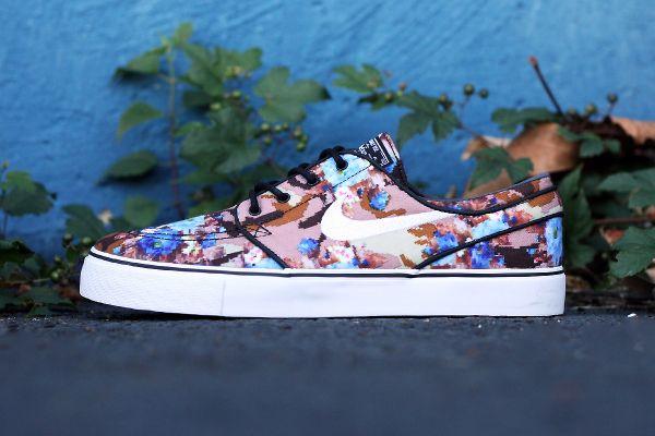 "Nike SB Stefan Janoski ""Desert/Blue Digi Floral Camo"""