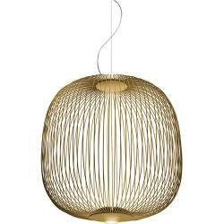 Foscarini Spokes 2 Pendelleuchte, gold, mit Kabelsonderlänge max. 10 m Foscarini #lightbedroom
